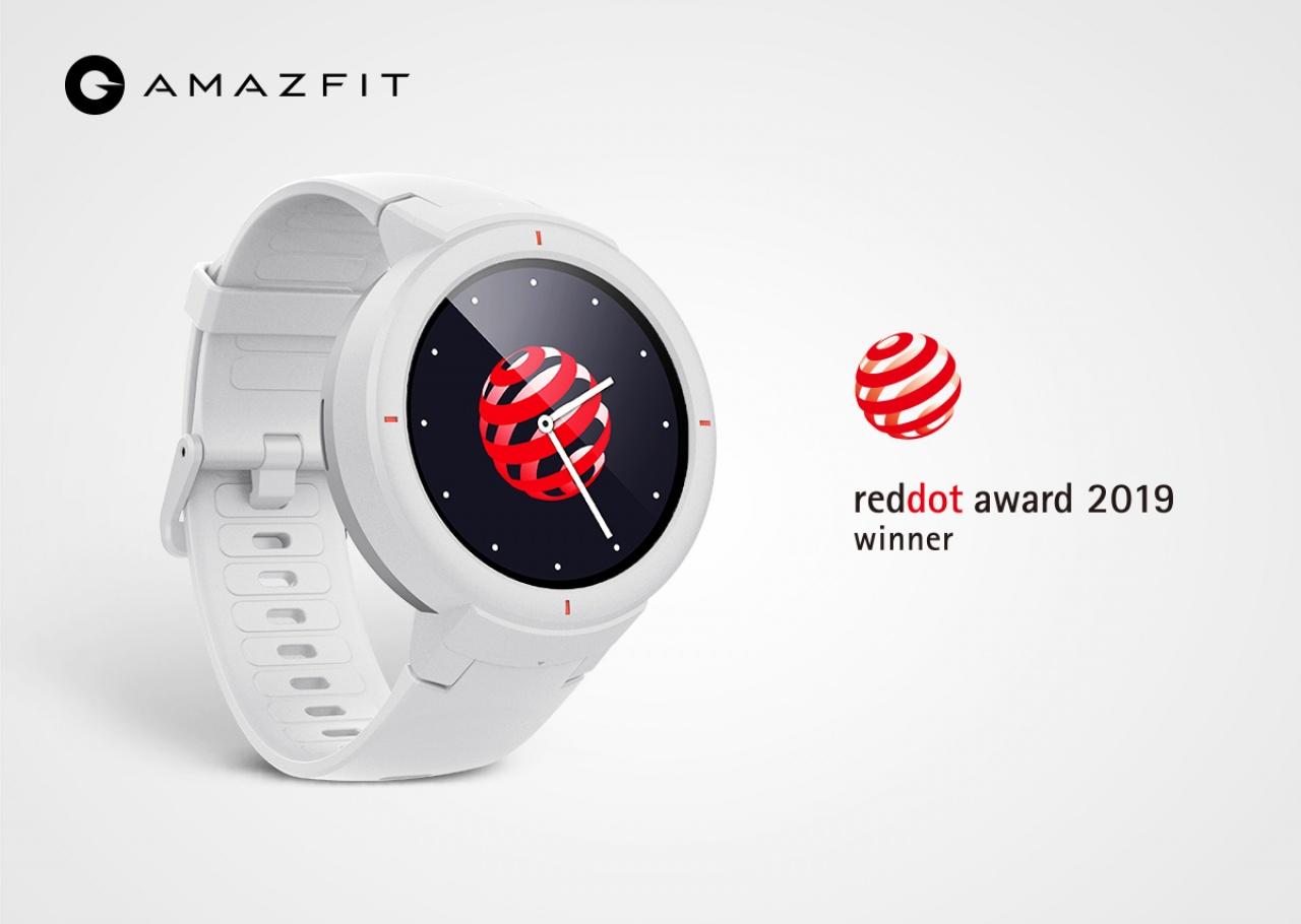 Amazfit Verge завоевал награду Red Dot Design Awards за инновационный дизайн
