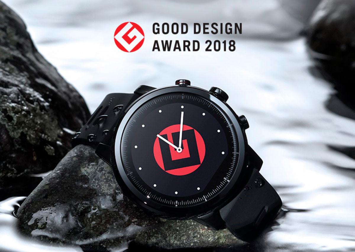 Amazfit Stratos завоевали японскую премию по дизайну «Good Design Award»